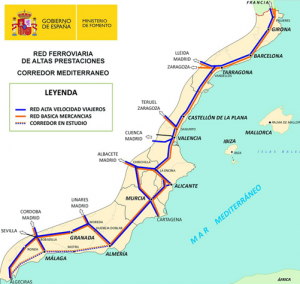 Corredor Mediterraneo