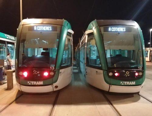 dnota, analiza la presencia del SARS-CoV-2 en el transporte público, controlando los vagones del TRAM BAIX y TRAM BESOS